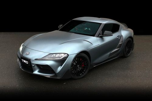 Toyota Reveals TRD Performance Line Concept for 2020 Supra
