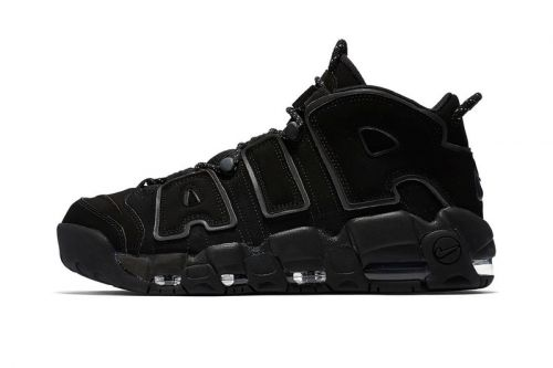 """A Closer Look at the Nike Air More Uptempo """"Triple Black"""""""