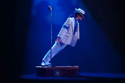 """PureArts Commemorates Michael Jackson's Gravity-Defying """"Smooth Criminal"""" Lean in a 1/3 Scale Statue"""