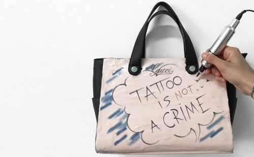 Gucci to launch limited-edition tattooed handbag