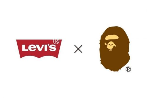 BAPE Teases Upcoming Collaboration With Levi's