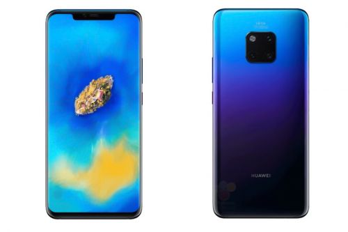 First Images of the Huawei Mate 20 Pro Have Been Leaked