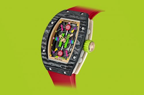 "Richard Mille Set to Release a Daring and Colorful ""Bonbon"" Collection"
