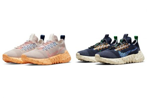 "Nike's Sustainable Space Hippie 01 Lifts Off in ""Melon Tint"" and ""Obsidian"" Colorways"