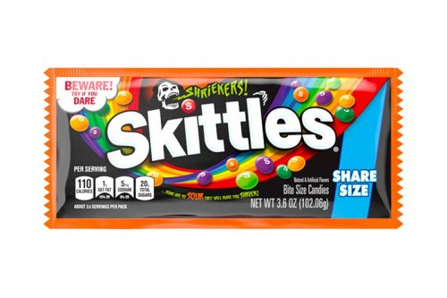 "Skittles' Sour ""Shriekers!"" Will Creep up In Your Bag of Treats This Halloween"