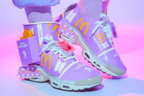 Would You Wear These Custom BTS x McDonald's Meal Sneakers?
