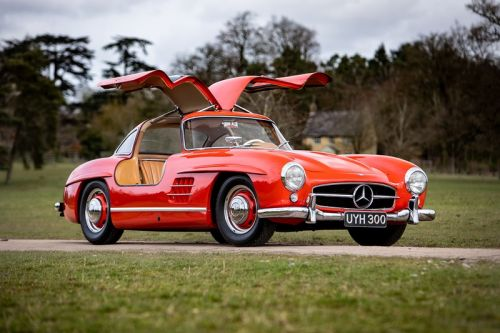 This Pristine Mercedes-Benz 300SL Gullwing Is Hitting the Auction Block