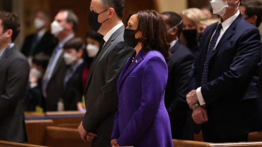 Kamala Harris Wears Black Designers On Inauguration Day