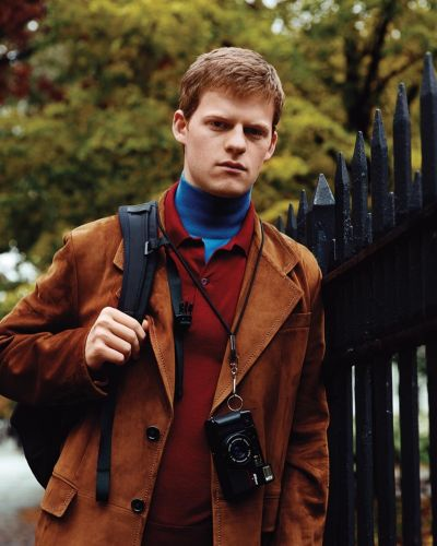 Lucas Hedges Dons Vintage-Inspired Style for WSJ