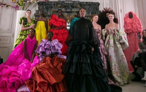 Valentino Delivers a Diversely Sentimental Collection