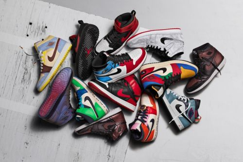 """Jordan Brand Unveils Air Jordan 1 """"Fearless Ones"""" Collection for Holiday 2019"""