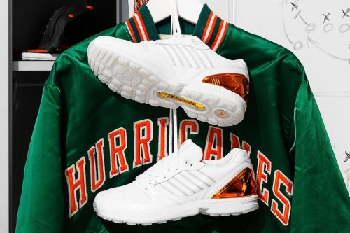 Adidas Originals and The University of Miami's ZX 5000 Is Game Day Ready