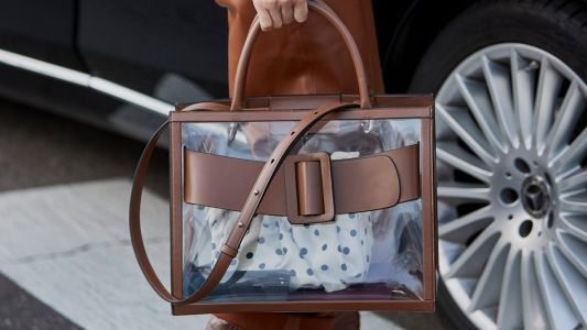 19 Clear Handbags to Help You Put It All Out There