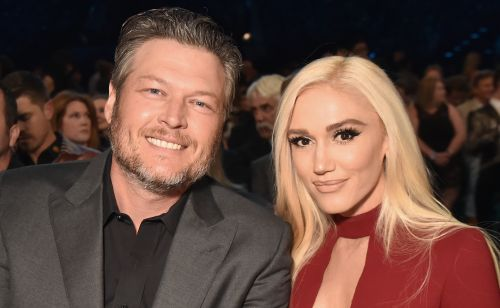 Gwen Stefani And Blake Shelton Pack On The PDA At Her Halloween-Themed Birthday Bash