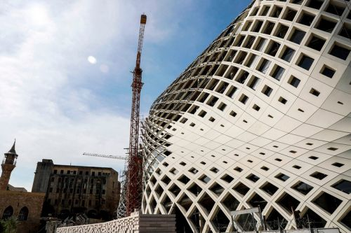 Fire Erupts in Zaha Hadid-Designed Shopping Center in Beirut