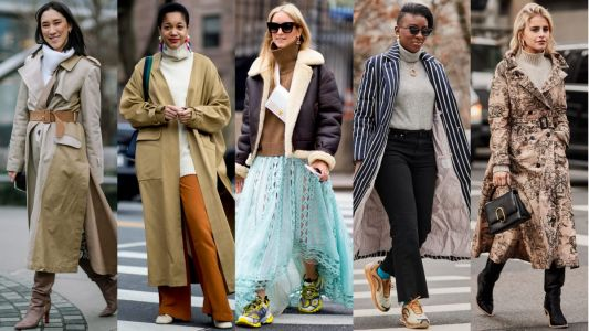 Turtlenecks Were a Street Style Essential on Day 5 of New York Fashion Week