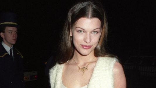 Great Outfits in Fashion History: Milla Jovovich Doing Elevated Grunge in 1992