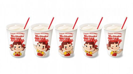 "McDonald's Japan Stirs Up New ""Milky Taste of Mommy McShake"""