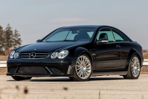 This Mercedes-Benz CLK 63 AMG Black Series Isn't for the Faint-Hearted