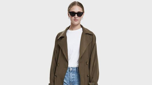 Maria Wants to Have This Lightweight Trench Coat That's on Sale