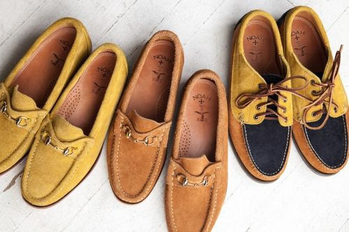 NOAH Drops Two Suede Bit Loafer & a Tricolor Trail Oxford