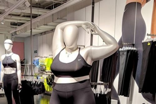 People hate that Nike's plus-size mannequin makes fat women feel welcome
