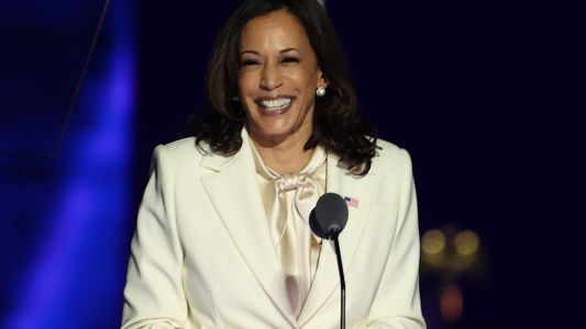 Vice President Kamala Harris Makes History-Swears In First Black Senator Of Georgia