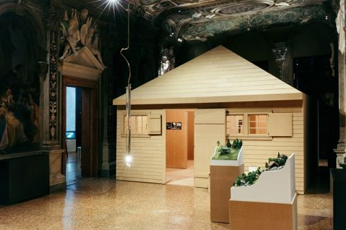 An Exhibition Recreating the Isolated Huts That Philosophers Worked In