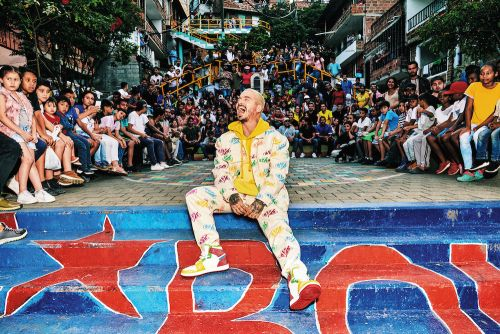 Guess Team Up With J Balvin for the 'Colores' Capsule Collection