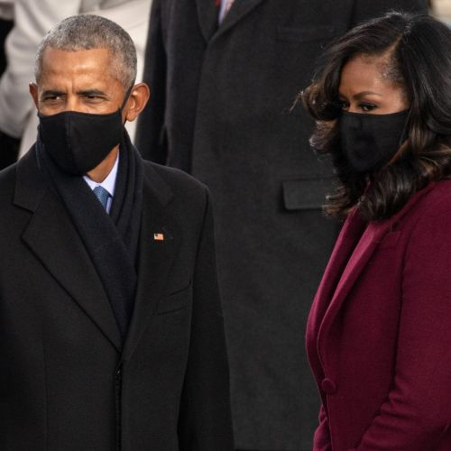 Michelle Obama Wore Fenty Beauty To The Inauguration