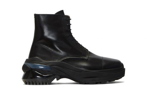 Maison Margiela Provides a Lift in Preparation for Combat Boot Season