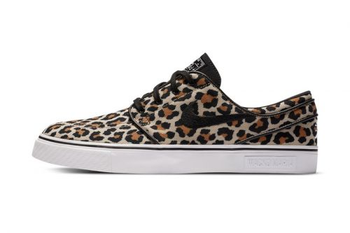WACKO MARIA Adds to Its Nike SB Collaboration With Leopard-Printed Janoski