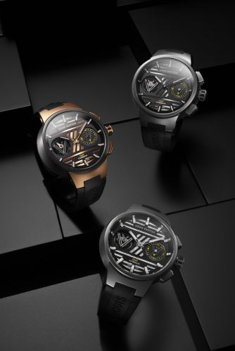 Louis Vuitton Tambour Curve GMT Flying Tourbillon Premieres