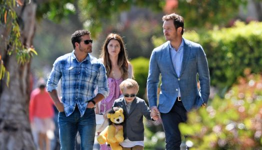 Chris Pratt and Fiancée Katherine Schwarzenegger Take His Son Jack to Church for Easter - See the Sweet Pics!