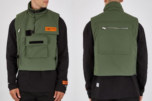 Functionality Meets Directional Design in Heron Preston's Ripstop Gilet