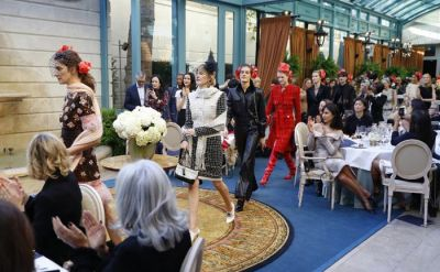 Chanel pays homage to Coco Chanel at show in the Ritz