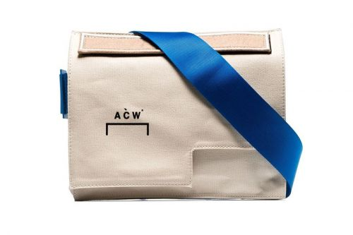 A-COLD-WALL* Goes Back to Basics With a SS19 Contrast Messenger Bag