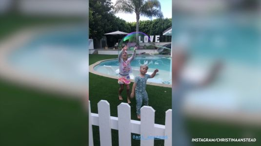 Christina Anstead Threw a Birthday Party for Son Brayden in Their Backyard and It's GORGEOUS