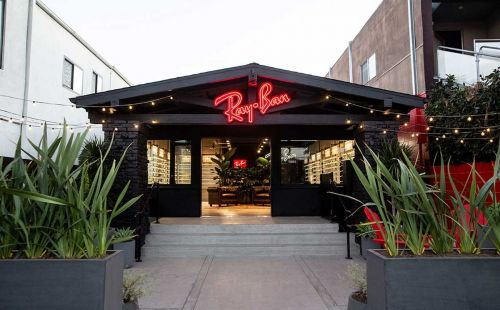 Ray-Ban opens new retail location in Venice, CA