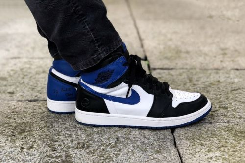 Fragment design x Nike Air Jordan 1 Unreleased Sample Revealed