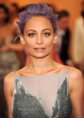 How Nicole Richie Got Her New Lavender Highlights