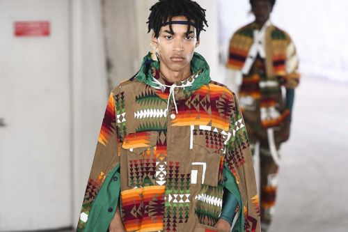 Sacai SS19 is Free-Form and Whimsical