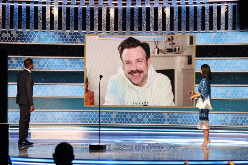 Where to buy Jason Sudeikis' Golden Globes hoodie and others like it