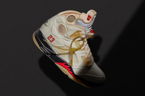 "The Long-Awaited Arrival of Off-White™'s Air Jordan 5 ""Sail"" Leads This Week's Best Footwear Drops"