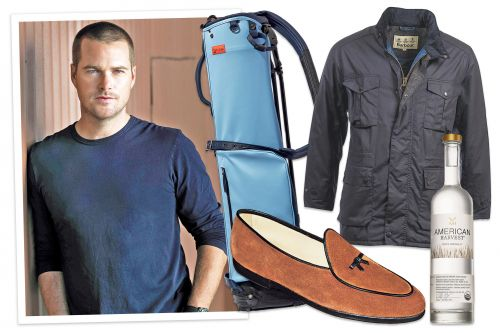 'NCIS: Los Angeles' star Chris O'Donnell's favorite things from loafers to Levi's