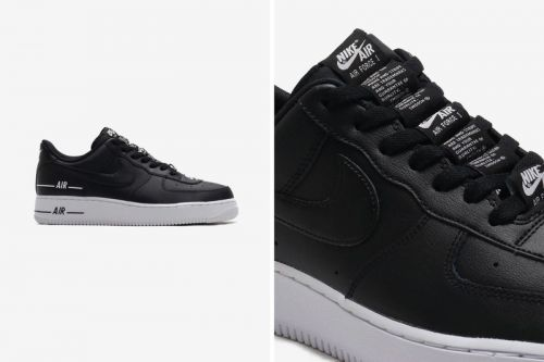 Nike's Air Force 1 '07 LV8 3 Receives Sleek Black Iteration