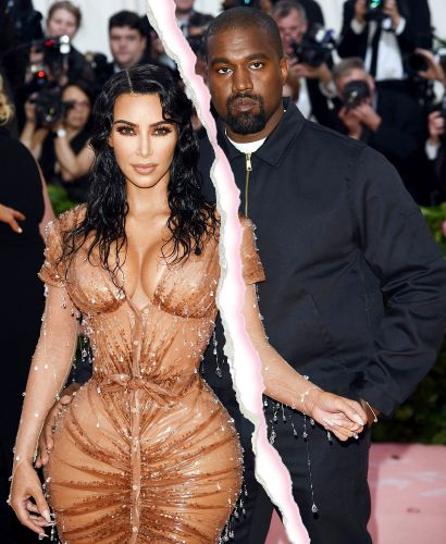 They're Done! Kim Kardashian Files for Divorce From Kanye West After Nearly 7 Years of Marriage