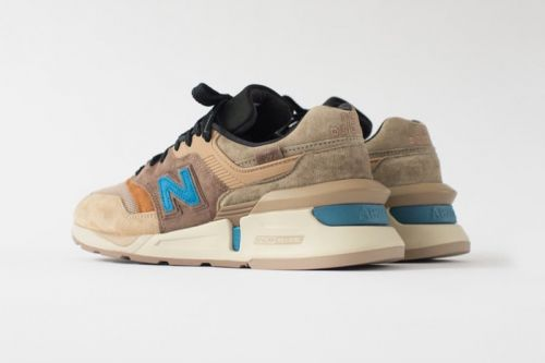 Ronnie Fieg Gives a First Look at Upcoming KITH x nonnative x New Balance 997 Collaboration