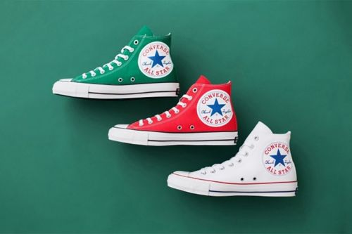 "Converse Japan Sidesteps Subtlety With Chuck Taylor All Star ""Hugepatch"" Hi"