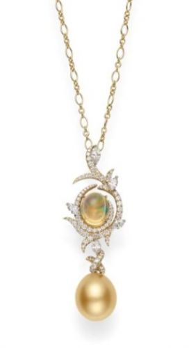 The Allure of Jewelry with Golden Pearls